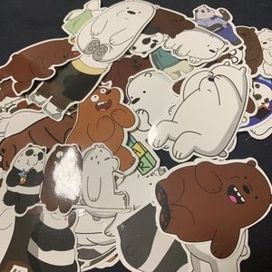 We Bare Bears 🐻 Sticker Set of 15